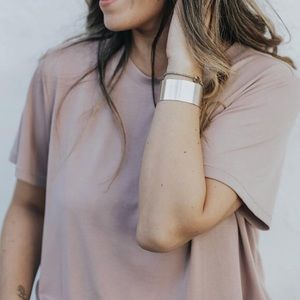 Carly Jean Los Angeles Small Jess Top - Dusty Rose